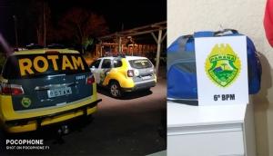 Matelândia: PM prende em flagrante autores de furto de mala na rodoviária -