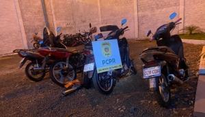 São Miguel: Pol. Civil recupera motoneta furtada e apreende outras três com sinais de adulteração -