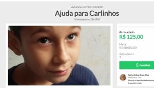 Medianeira: Família pede ajuda para criança que sofre de doença neurodegenerativa -