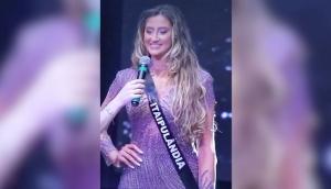 Letícia Spieker Gasparini, de Itaipulândia, marca história e fica entre as cinco finalistas do Miss Universo Paraná -