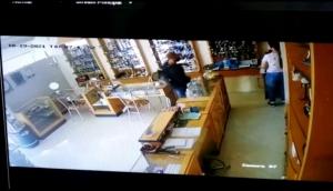 Vídeo mostra ação de ladrões que assaltaram relojoaria no centro de Itaipulândia -