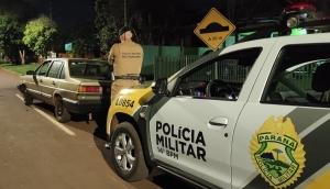 PM de Itaipulândia recupera VW Santana furtado na cidade de Matelândia -