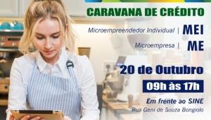 Caravana de Crédito da Fomento PR estará nesta quarta-feira (20) em São Miguel do Iguaçu -