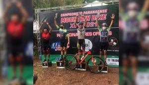 Ciclista medianeirense Lucas Seganfredo é Campeão Estadual de Cross Country -