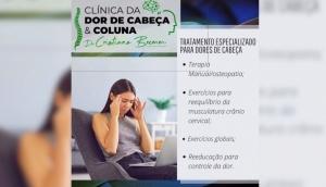 Clínica da Dor de Cabeça: Dr. Cristiano Bremm apresenta tratamento especializado -